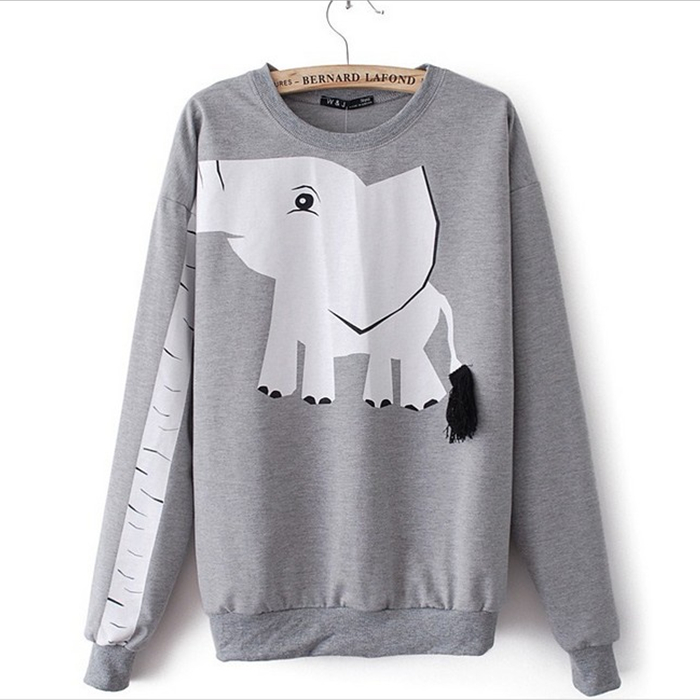 White Elephant Sweatshirts For Women on Luulla